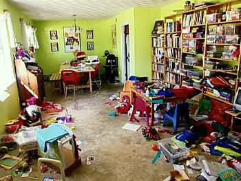 Ένα δωμάτιο ακατάστατο