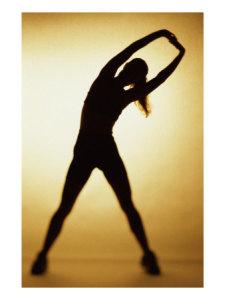 Γυναίκα κάνει μια άσκηση