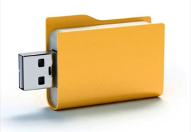 Φάκελος usb flash drive
